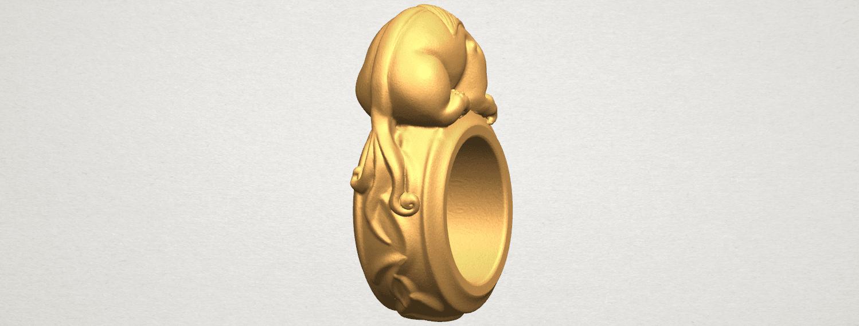 TDA0504 Pi Xiu Ring A03.png Télécharger fichier STL gratuit Bague Pi Xiu Ring • Modèle à imprimer en 3D, GeorgesNikkei