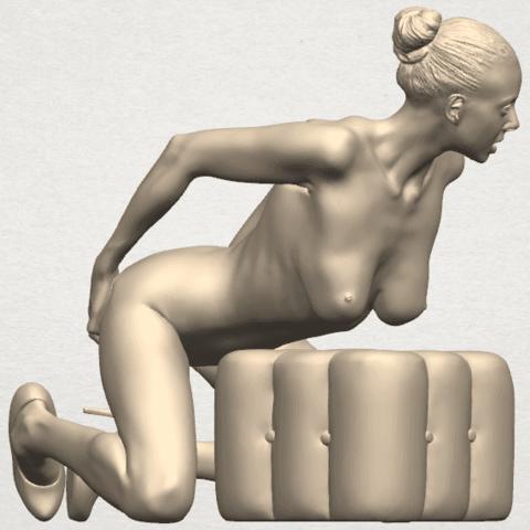 TDA0286 Naked Girl B03 06.png Download free STL file  Naked Girl B03 • 3D printing model, GeorgesNikkei