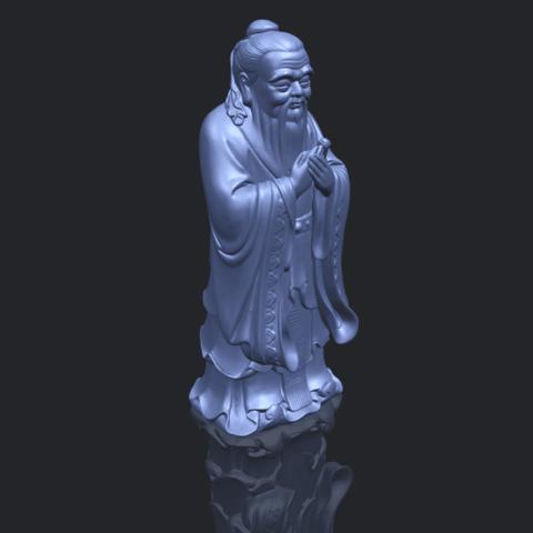13_TDA0341_ConfuciusB00-1.png Download free STL file Confucius • 3D printable model, GeorgesNikkei