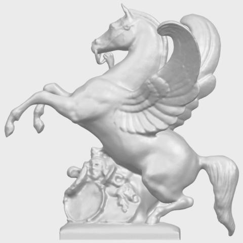10_Horse_(v)_88.3mmA01.png Télécharger fichier STL gratuit Cheval 05 • Plan pour impression 3D, GeorgesNikkei