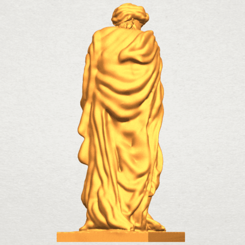 A07.png Télécharger fichier STL gratuit Sculpture - Hiver 02 • Design pour impression 3D, GeorgesNikkei