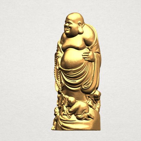 TDA0070 Metteyya Buddha 03 - 88mm - A02.png Download free STL file Metteyya Buddha 03 • 3D printing object, GeorgesNikkei