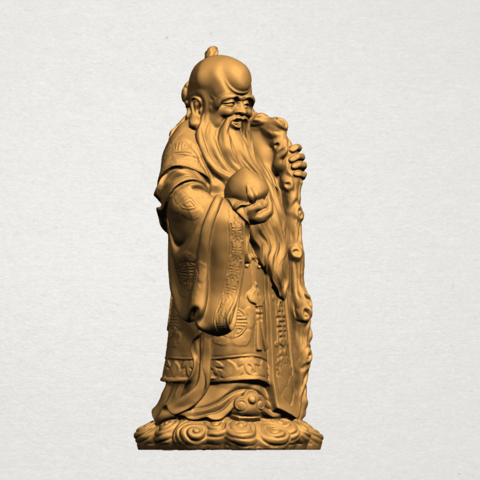 Sao (Fook Look Sao) 80mm - A06.png Download free STL file Sao (Fook Look Sao) • 3D printable model, GeorgesNikkei