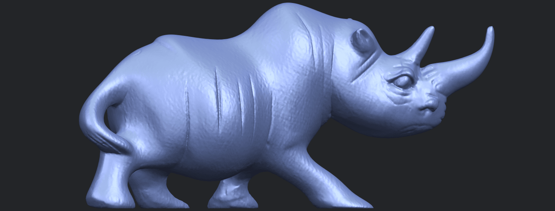 TDA0310_Rhinoceros_iiB06.png Download free STL file Rhinoceros 02 • 3D printing model, GeorgesNikkei