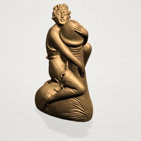 Alice hugging Dick - B01.png Download free STL file Alice hugging Dick • 3D printer design, GeorgesNikkei
