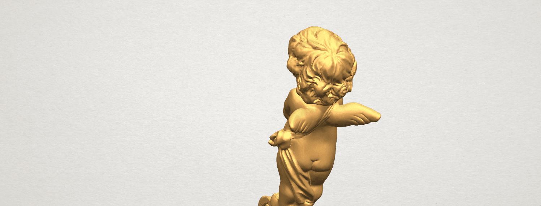 TDA0479 Angel Baby 02 A08.png Télécharger fichier STL gratuit Bébé Ange 02 • Plan pour imprimante 3D, GeorgesNikkei