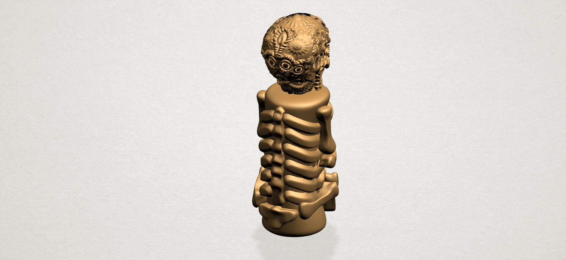 Skelecton - B05.png Download free STL file Skelecton • 3D printer object, GeorgesNikkei