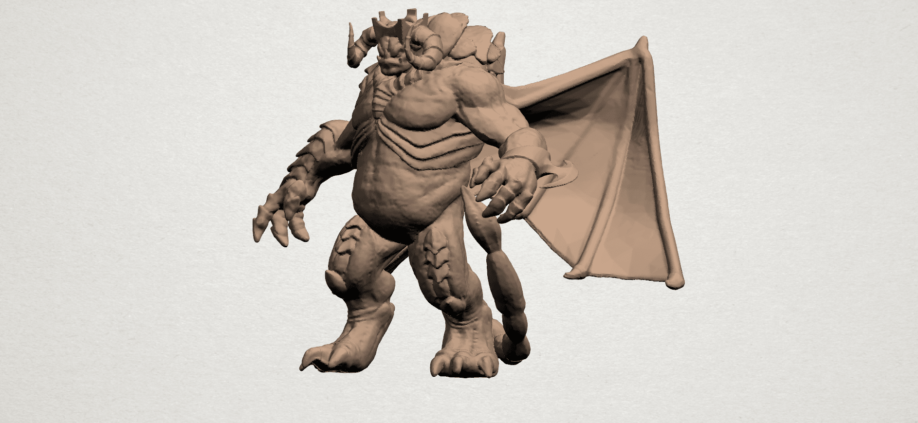 Monster (i) A02.png Download free STL file Monster 01 • 3D printable template, GeorgesNikkei
