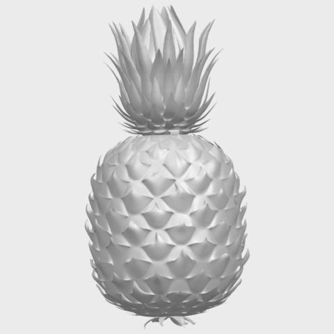 15_TDA0552_PineappleA03.png Download free STL file Pineapple • 3D printer design, GeorgesNikkei