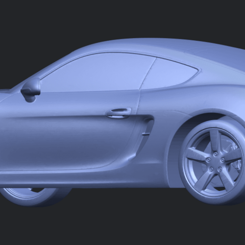 16_TDA0304_Porche_01_Length438mmB02.png Download free STL file Porche 01 • 3D printable object, GeorgesNikkei