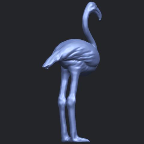 04_TDA0597_Flamingo_01B05.png Download free STL file Flamingo 01 • 3D printing model, GeorgesNikkei
