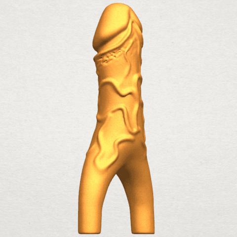 TDA0317 Dick (ii) A04.png Download free STL file Dick 02 • Design to 3D print, GeorgesNikkei