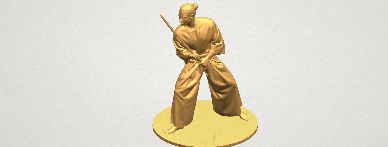 TDA0544 Japanese Warrior A07.png Download free STL file Japanese Warrior • 3D printer model, GeorgesNikkei