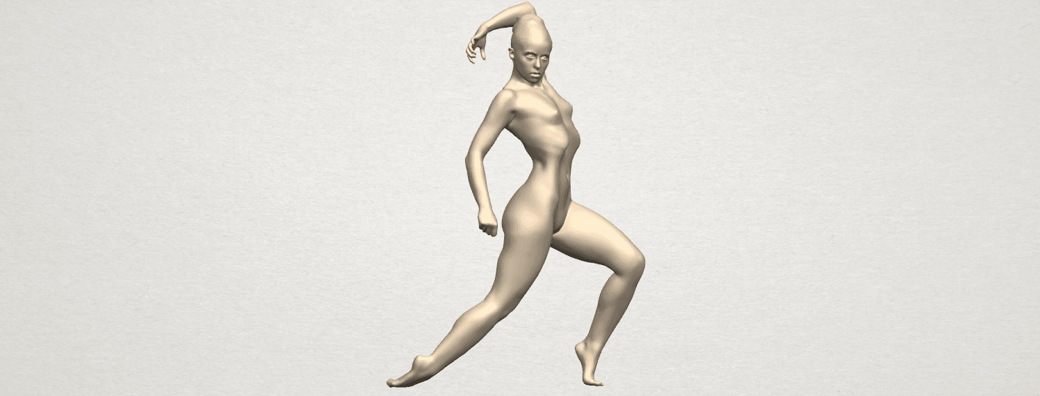 TDA0279 Naked Girl A06 01.png Download free STL file Naked Girl A06 • 3D printing template, GeorgesNikkei