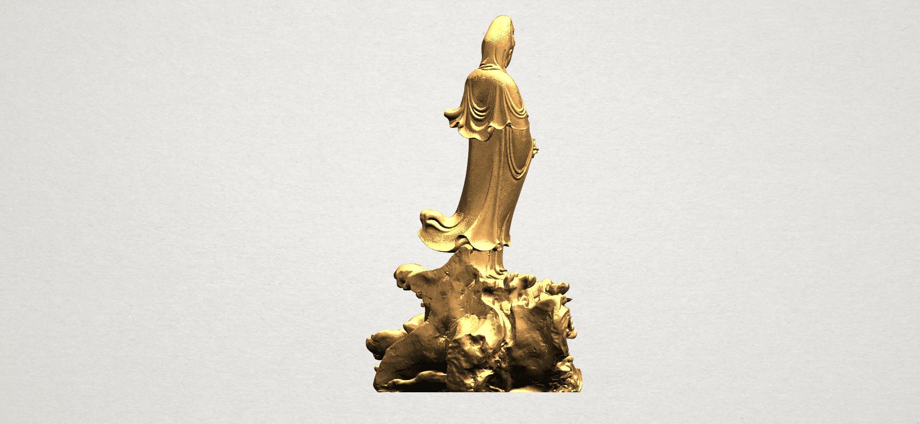 Avalokitesvara Buddha - Standing (ii) A06.png Download free STL file Avalokitesvara Bodhisattva - Standing 02 • Design to 3D print, GeorgesNikkei