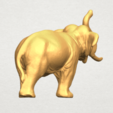 Free 3D printer designs Elephant 06, GeorgesNikkei