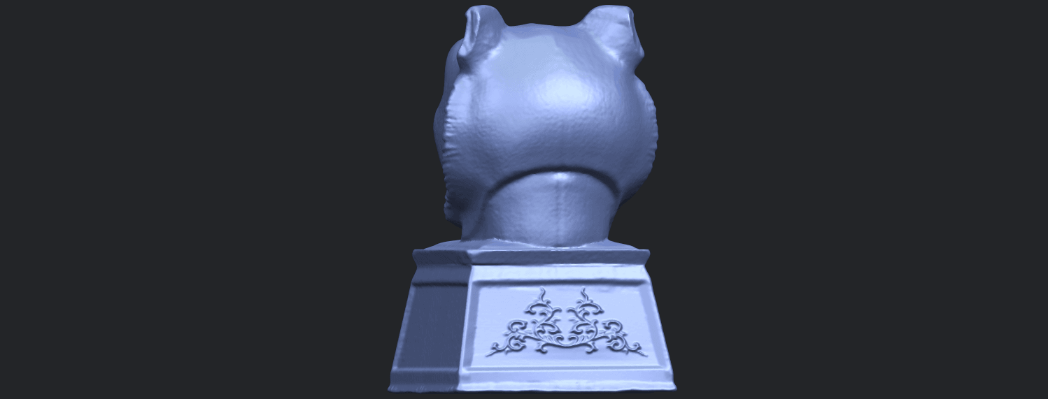 20_TDA0510_Chinese_Horoscope_of_Tiger_02B06.png Download free STL file Chinese Horoscope of Tiger 02 • 3D print object, GeorgesNikkei