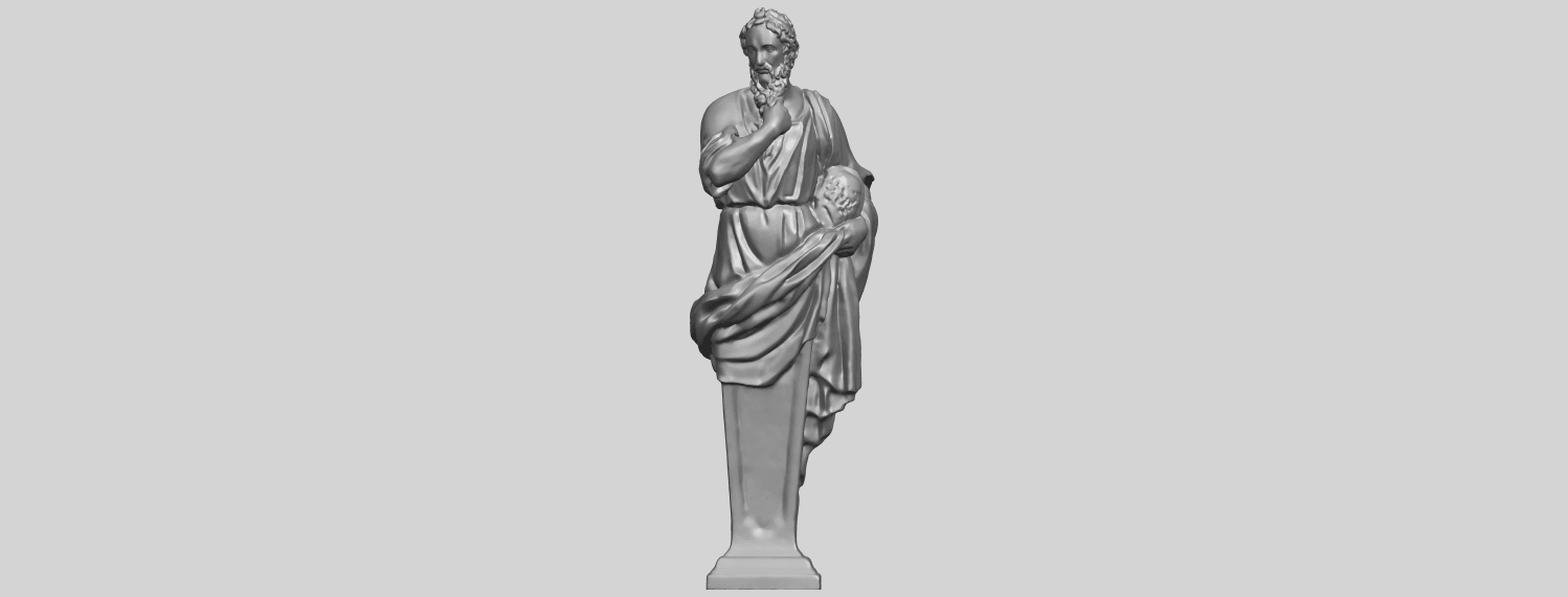 06_TDA0460_Plato_ex1900A01.png Download free STL file Plato • 3D printing template, GeorgesNikkei