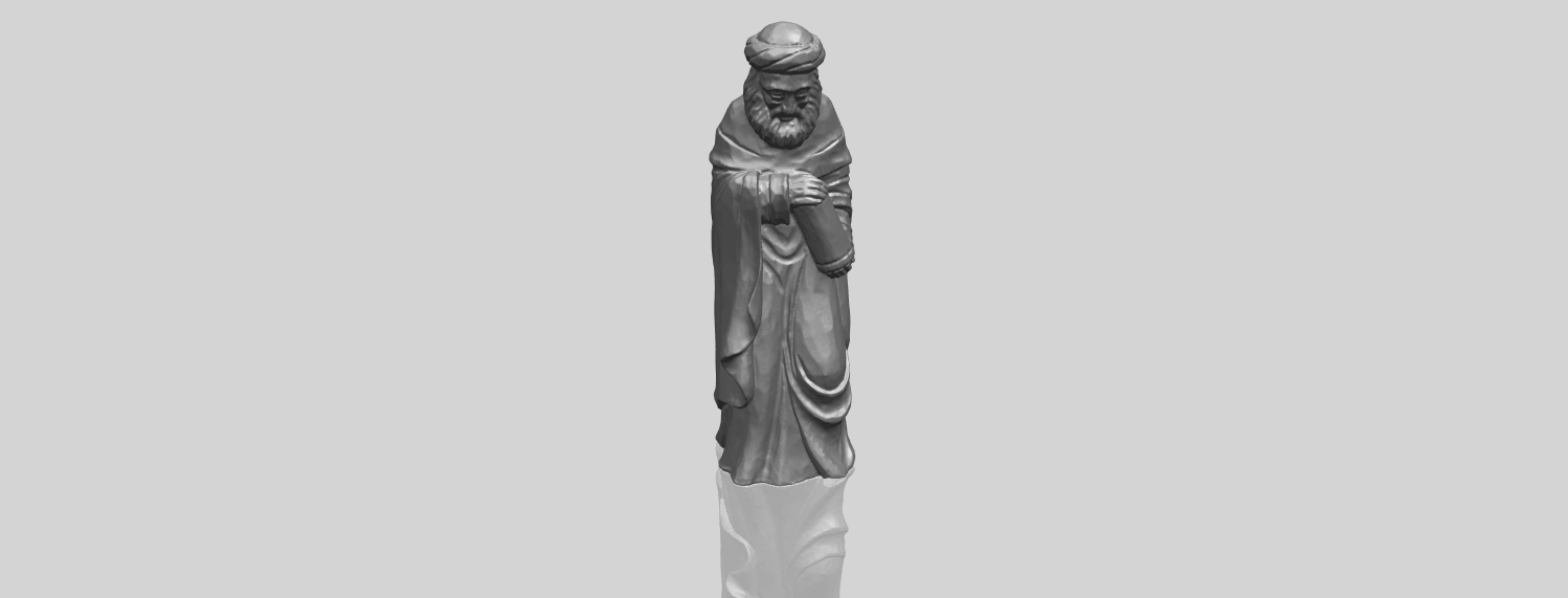 26_Sculpture_of_Arabian_88mm-A00-1.png Download free STL file Sculpture of Arabian • 3D print template, GeorgesNikkei