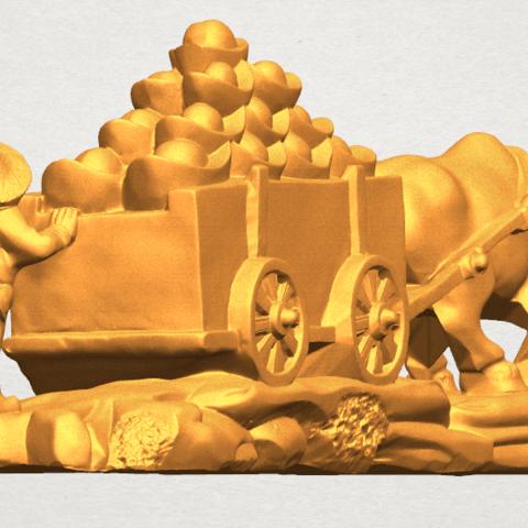 TDA0315 Golden Car A04.png Download free STL file Golden Car • 3D printer template, GeorgesNikkei