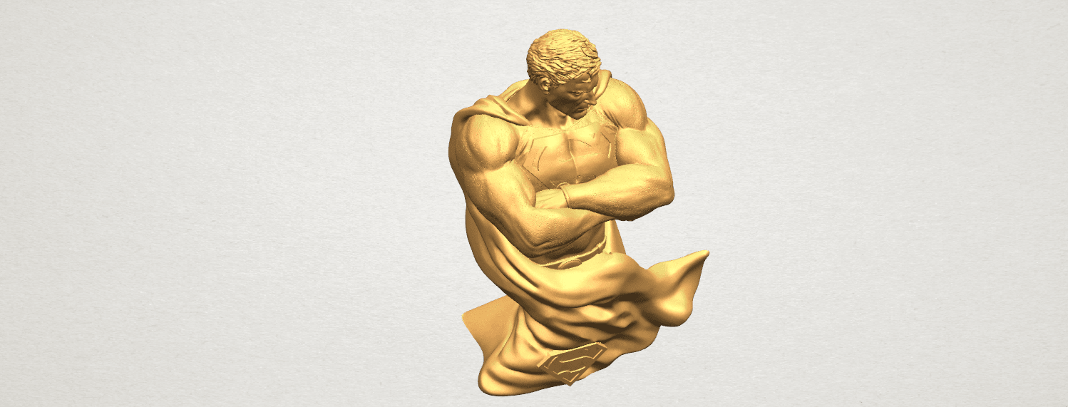 TDA0542 Superman A09.png Download free STL file Superman • 3D printable model, GeorgesNikkei