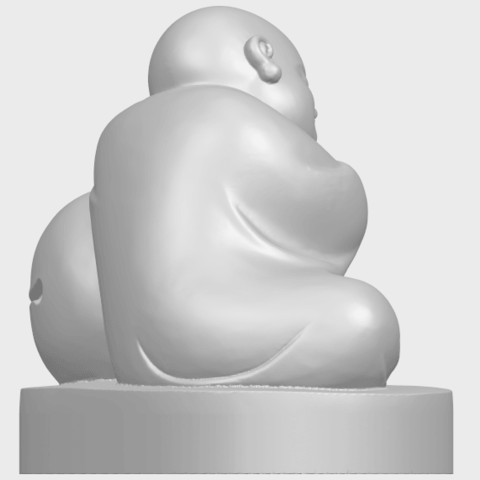 03_TDA0346_Little_MonkA08.png Download free STL file Little Monk 02 • Design to 3D print, GeorgesNikkei