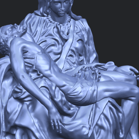 05_TDA0238_La_PietaA10.png Télécharger fichier STL gratuit La Pieta • Modèle pour impression 3D, GeorgesNikkei