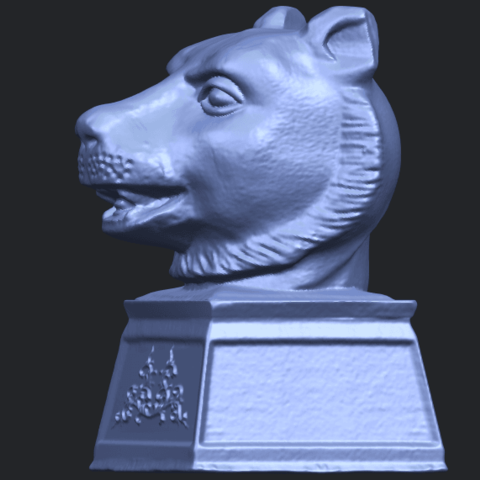 20_TDA0510_Chinese_Horoscope_of_Tiger_02B03.png Download free STL file Chinese Horoscope of Tiger 02 • 3D print object, GeorgesNikkei