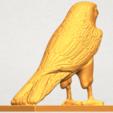 A05.png Télécharger fichier STL gratuit Aigle 04 • Design imprimable en 3D, GeorgesNikkei