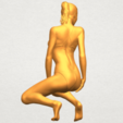 05.png Download free STL file Naked Girl D04 • 3D printable template, GeorgesNikkei