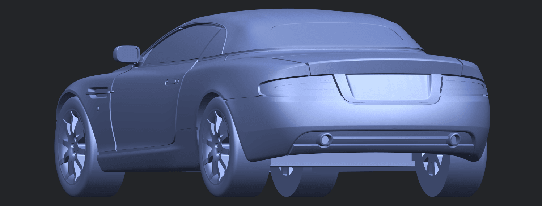 TDB007_1-50 ALLA03.png Download free STL file Aston Martin DB9 Cabriolet • 3D print model, GeorgesNikkei