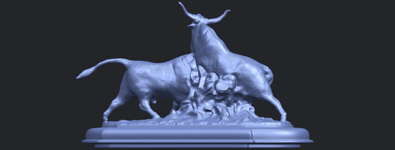 15_Bull_iii_74mm-B02.png Télécharger fichier STL gratuit Taureau 03 • Plan imprimable en 3D, GeorgesNikkei