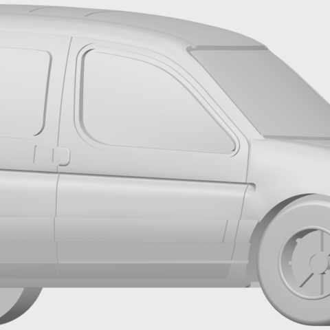 08_TDB002_1-50A07.png Download free STL file Citroen Berlingo Belgium Post • Design to 3D print, GeorgesNikkei
