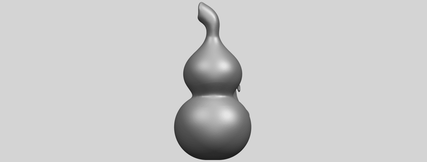 11_TDA0335_Bottle_Gourd_01A07.png Download free STL file Bottle Gourd 01 • 3D printing template, GeorgesNikkei