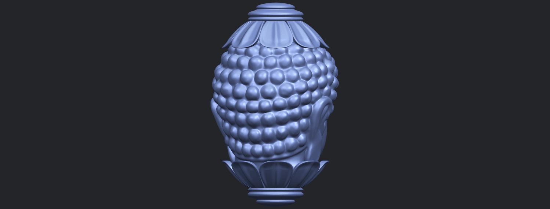 11_Buddha_Head_Sculpture_80mmB07.png Download free STL file Buddha - Head Sculpture • 3D printing model, GeorgesNikkei