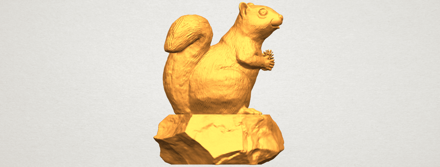A06.png Download free STL file Squirrel 01 • Model to 3D print, GeorgesNikkei