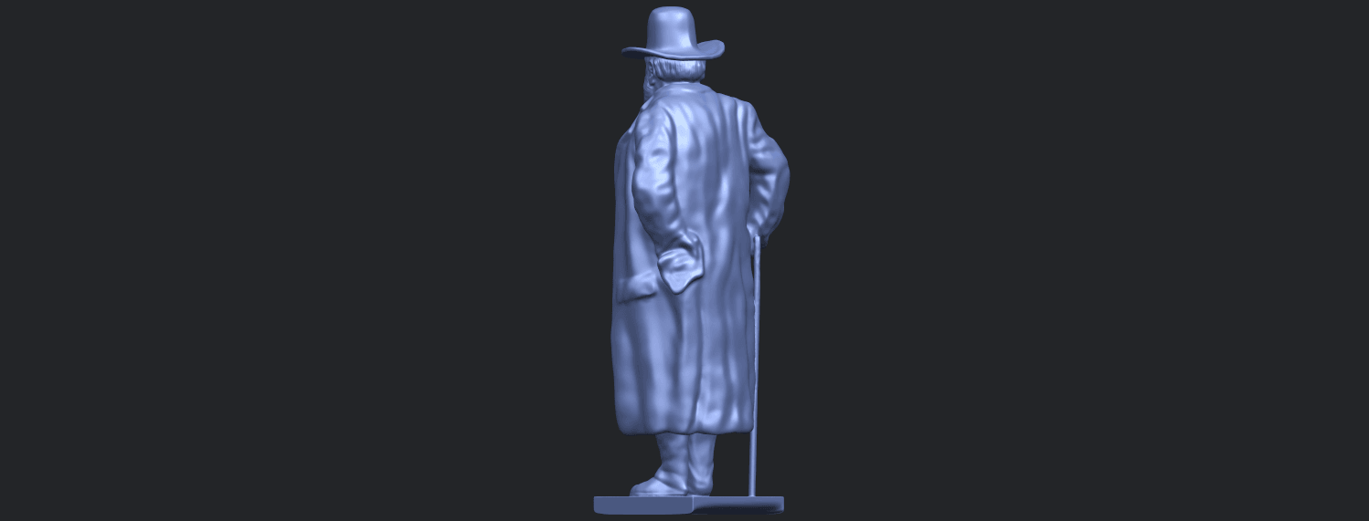 08_TDA0210_Sculpture_of_a_man_88mmB05.png Download free STL file Sculpture of a man 02 • Object to 3D print, GeorgesNikkei