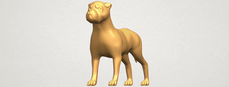 TDA0524 Bull Dog 05 A02.png Download free STL file Bull Dog 05 • 3D printer design, GeorgesNikkei