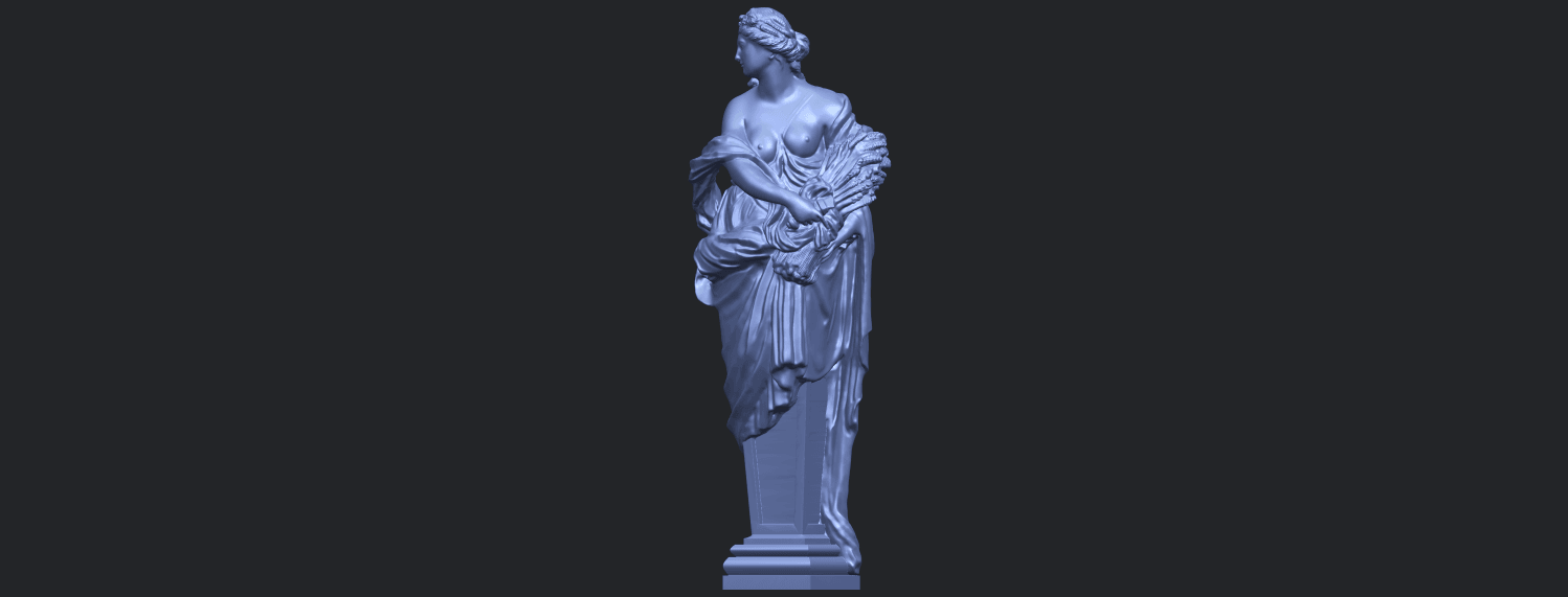 12_TDA0260_Sculpture_AutumnB02.png Download free STL file Sculpture - Autumn • 3D print template, GeorgesNikkei