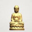 Gautama Buddha young - C01.png Télécharger fichier STL gratuit Gautama Bouddha Bouddha • Objet imprimable en 3D, GeorgesNikkei