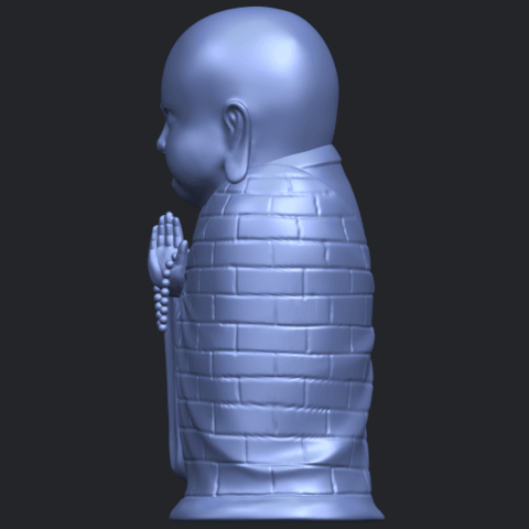 Little_Monk_80mmB04.png Download free STL file Little Monk 01 • 3D printable design, GeorgesNikkei