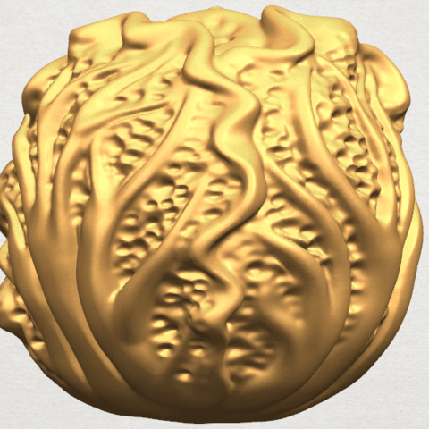 TDA0496 Cabbage A05.png Download free STL file Cabbage • 3D printer model, GeorgesNikkei