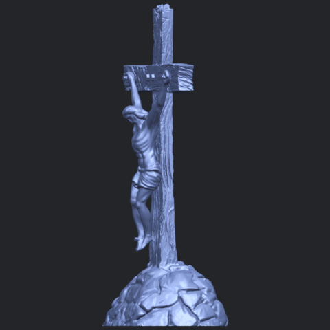 12_TDA0229_Jesus_with_cross_ii_88mmB03.png Download free STL file Jesus with cross 02 • Template to 3D print, GeorgesNikkei