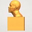 TDA0294 Obama A03.png Download free STL file Obama • 3D print model, GeorgesNikkei
