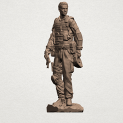 Free 3d printer model American Soldier, GeorgesNikkei