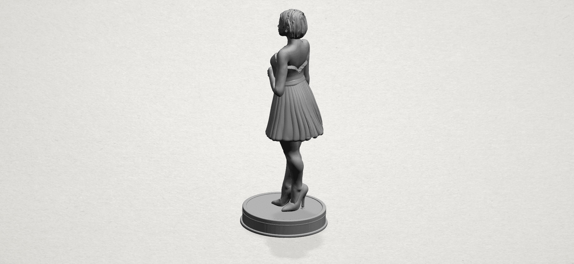Standing girl- A03.png Download free STL file Standing girl • 3D printer design, GeorgesNikkei