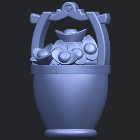13_TDA0502_Gold_in_BucketB07.png Download free STL file Gold in Bucket • 3D print object, GeorgesNikkei