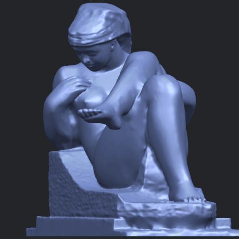 20_TDA0170_Naked_Girl_(xiii)_88mmB03.png Download free STL file Naked Girl 13 • 3D print design, GeorgesNikkei