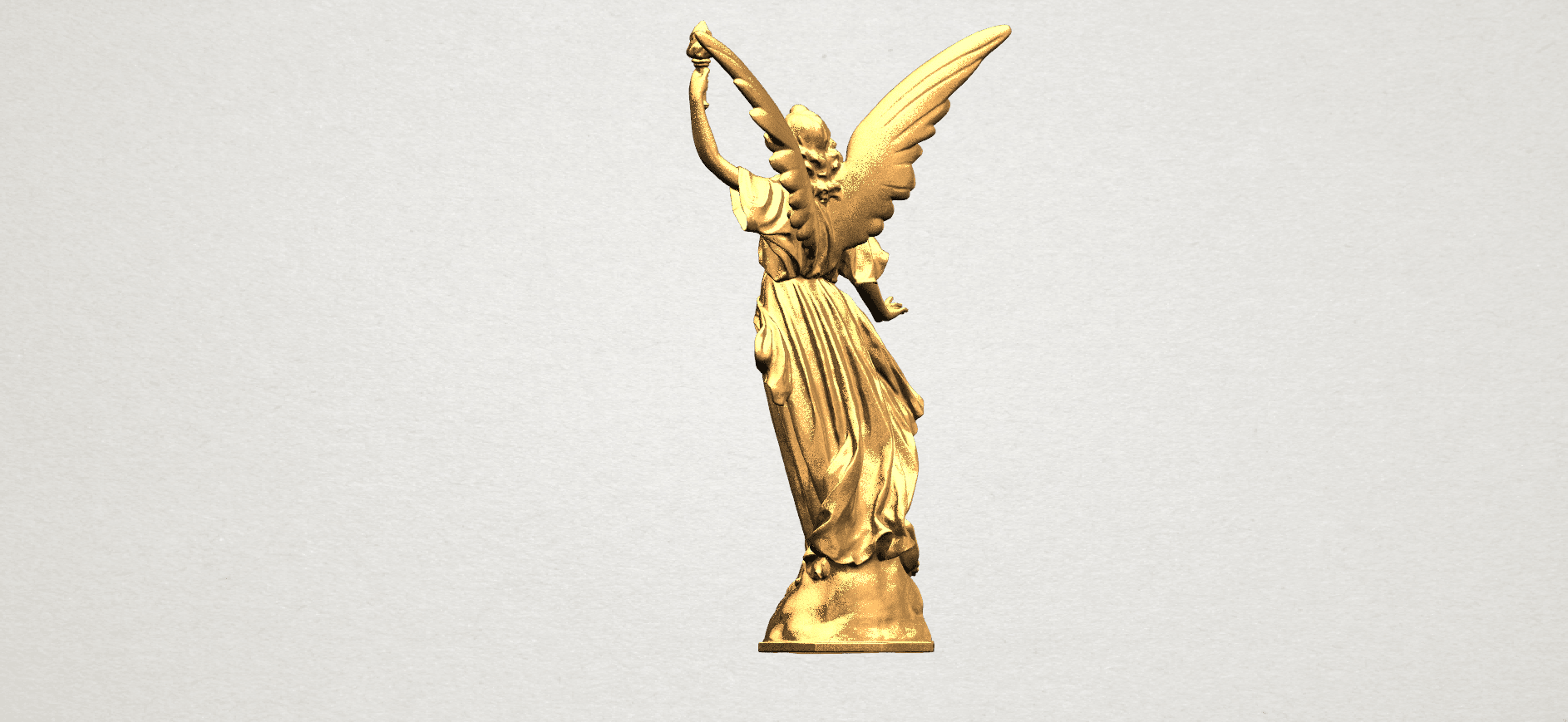 Statue 01 - A04.png Download free STL file Statue 01 • Object to 3D print, GeorgesNikkei