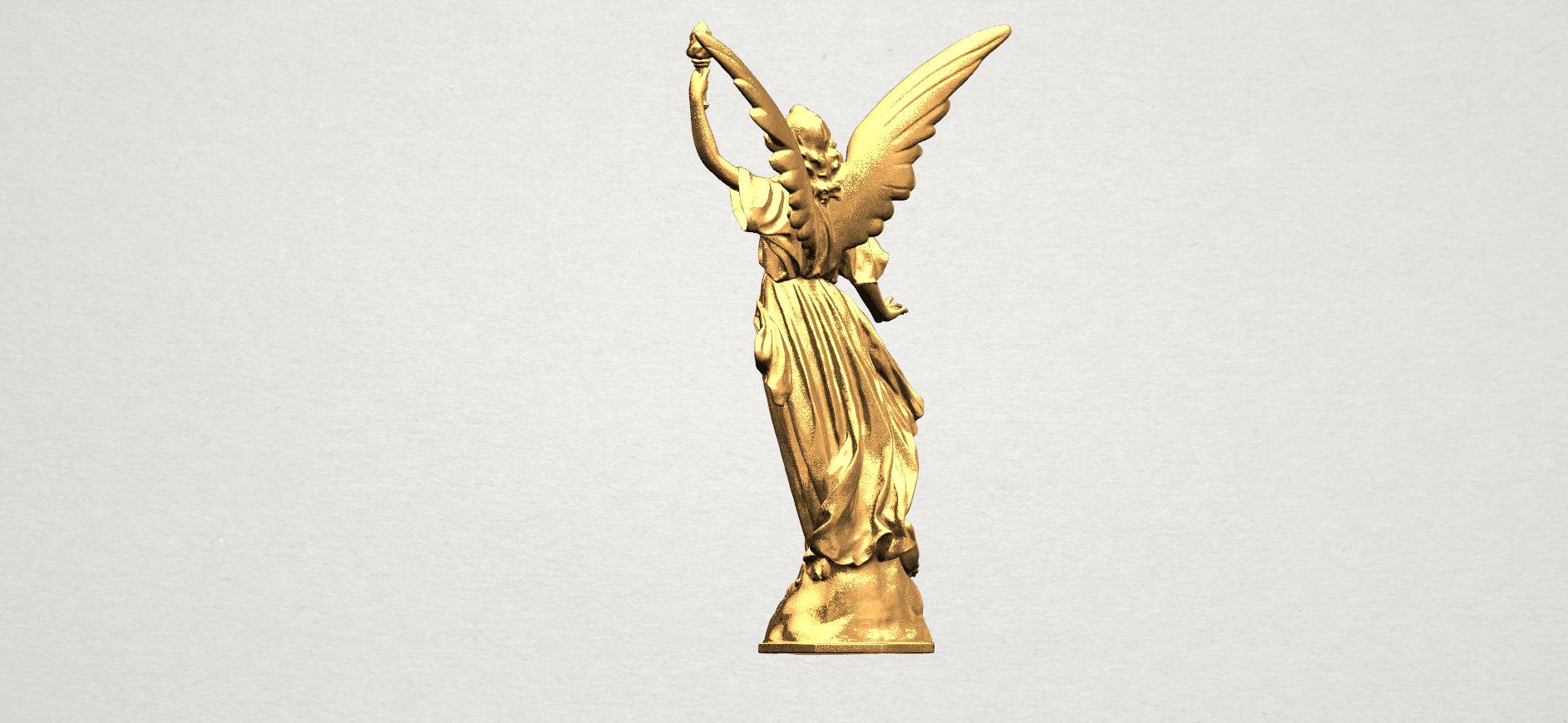 Statue 01 - A04.png Télécharger fichier STL gratuit Statue 01 • Design à imprimer en 3D, GeorgesNikkei